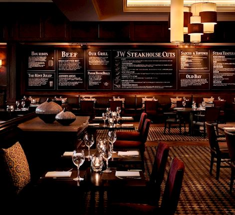The JW Steakhouse Restaurant